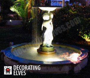 Accent Lighting; Fountain Lighting, Statue Lighting www.decoratingelves.com