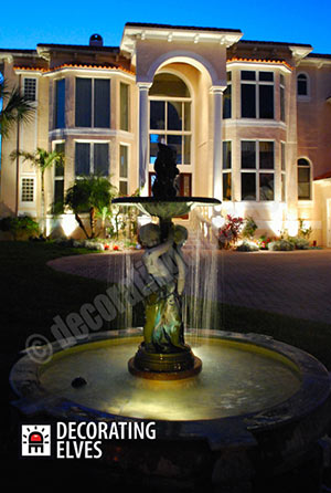 Accent-Lighting-Fountain-Lighting----------www.decoratingelves.com