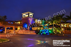 Tampa commercial outdoor lighting decorating elves commercial outdoor lighting mozeypictures Gallery
