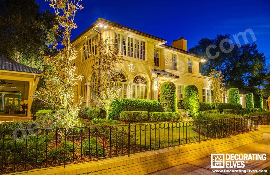 Front-of-House-LED-Uplighting,-Grazing,-Security-Lighting--www.decoratingelves.com