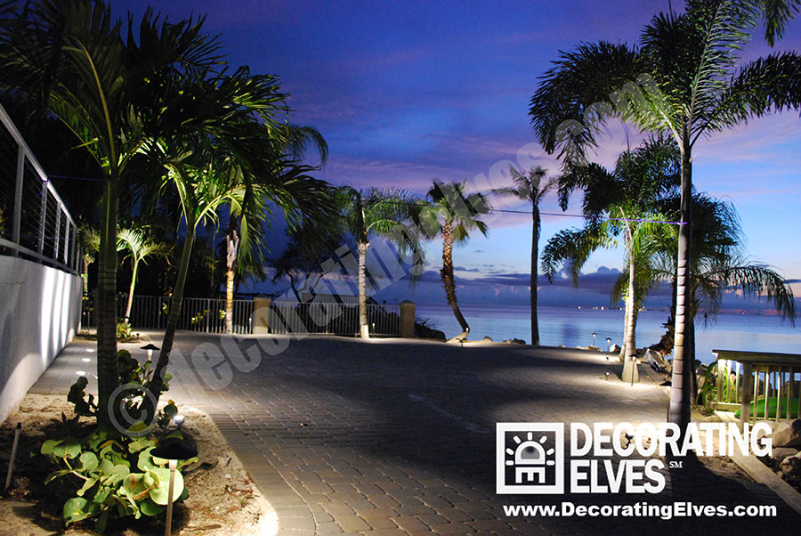 Hardscape-Lighting--LED-Paver,-Uplighting-Sunset-www.decoratingelves.com