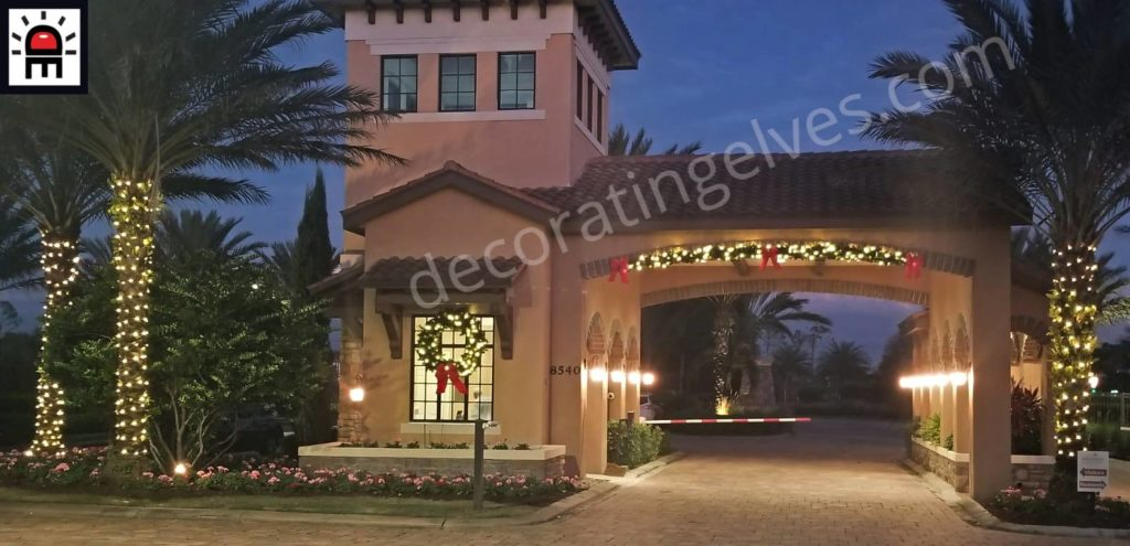 holiday lighting tampa bay fl