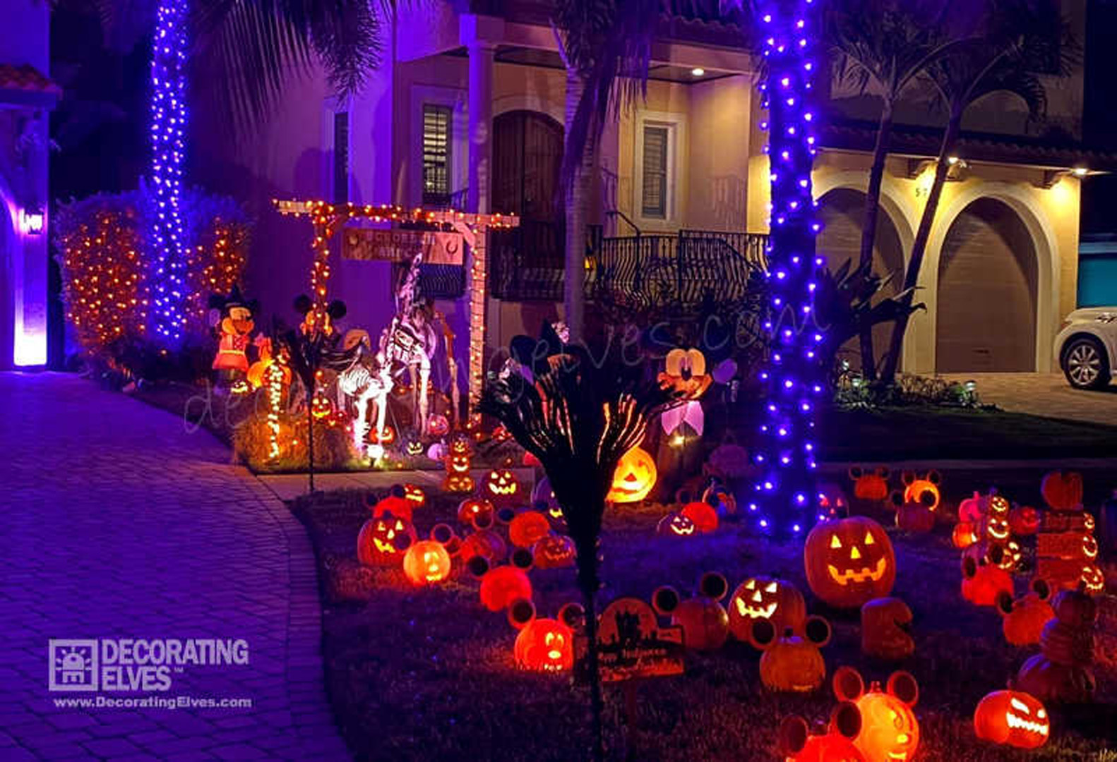 Halloween Right of Driveway